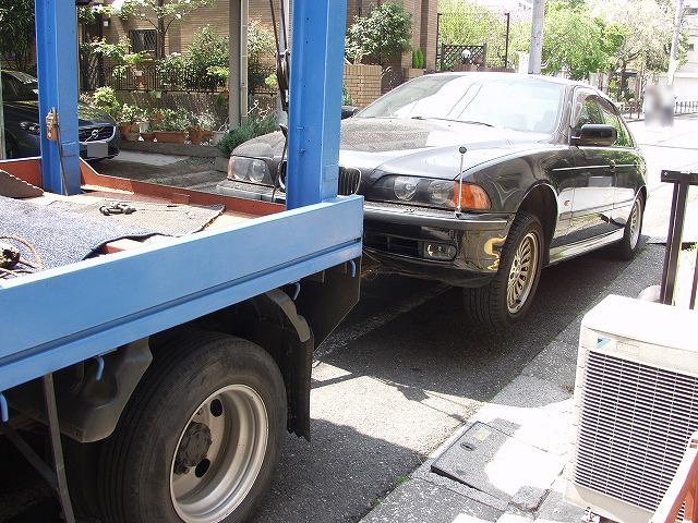 BMW E39 528i  廃車.jpg