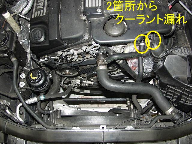 BMW320i E91 ウォーターホース1.jpg
