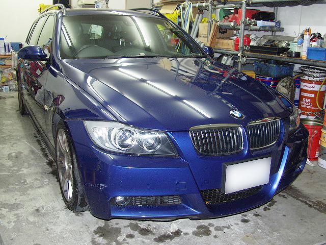 BMW325i E91 パッド&ローター交換.jpg