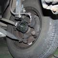 ドライブシャフトブーツ交換  国産FF車 格安修理