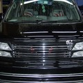 日産・エルグランド 車検と修理 (ドライブシャフト交換、クーラント漏れ)