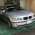 BMW 320 i(E46) 車検と修理(ブレーキパッド&ローター交換)