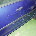 VWゴルフ    ドア 傷 へこみ 交換 修理 (中古部品使用の格安修理)