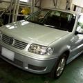 VW  ポロ 格安車検 (三鷹市)