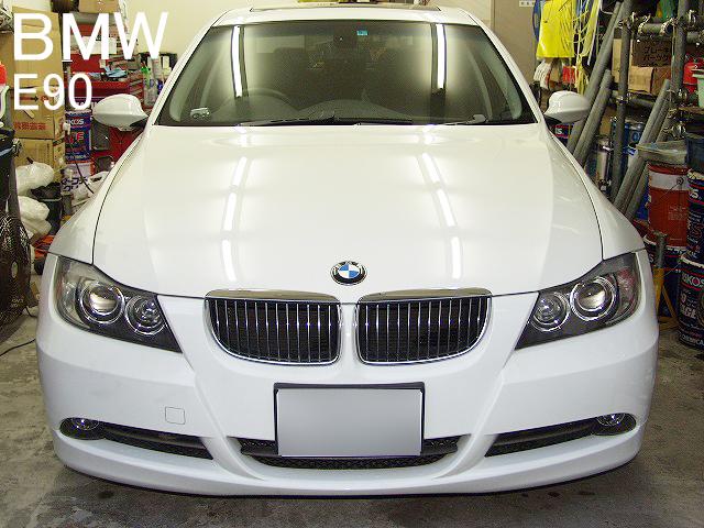 BMW 335i(E90) 早めに直したほうが良いオイル漏れ画像