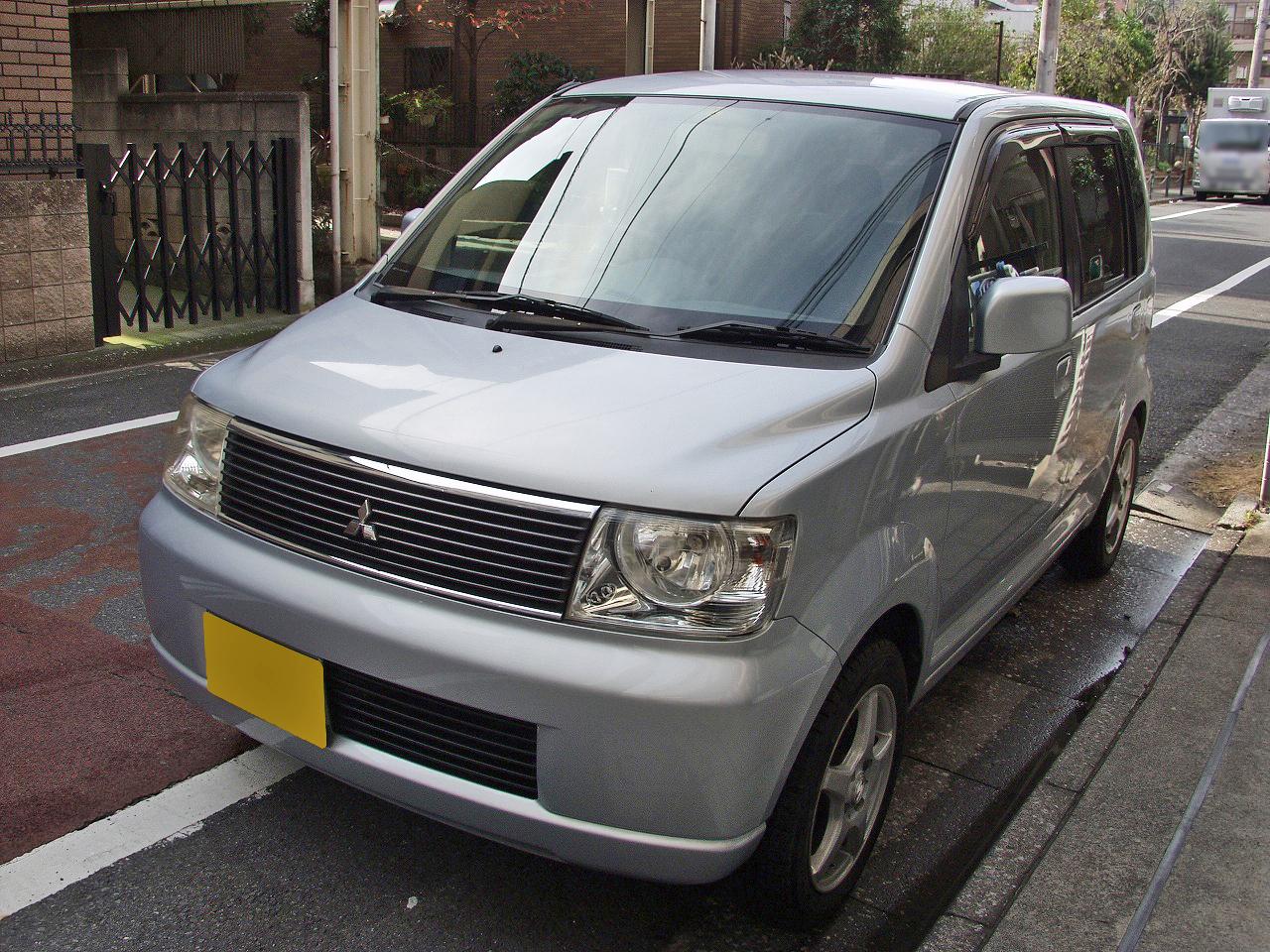 三菱EKワゴン(平成16年式)車検整備とメンテナンス画像