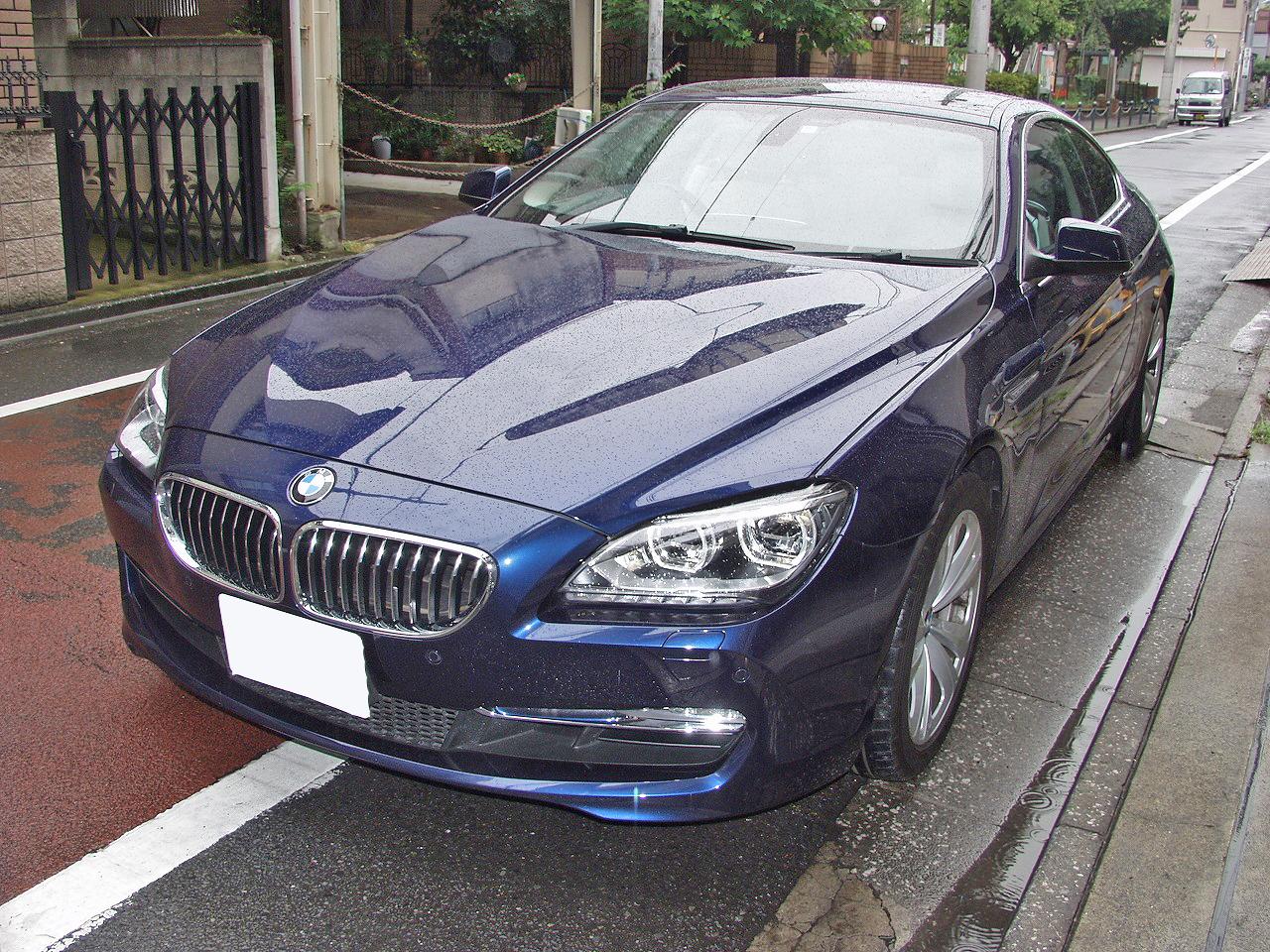 【車検NG】BMW 640i(F13)エアバッグ警告灯が点灯画像