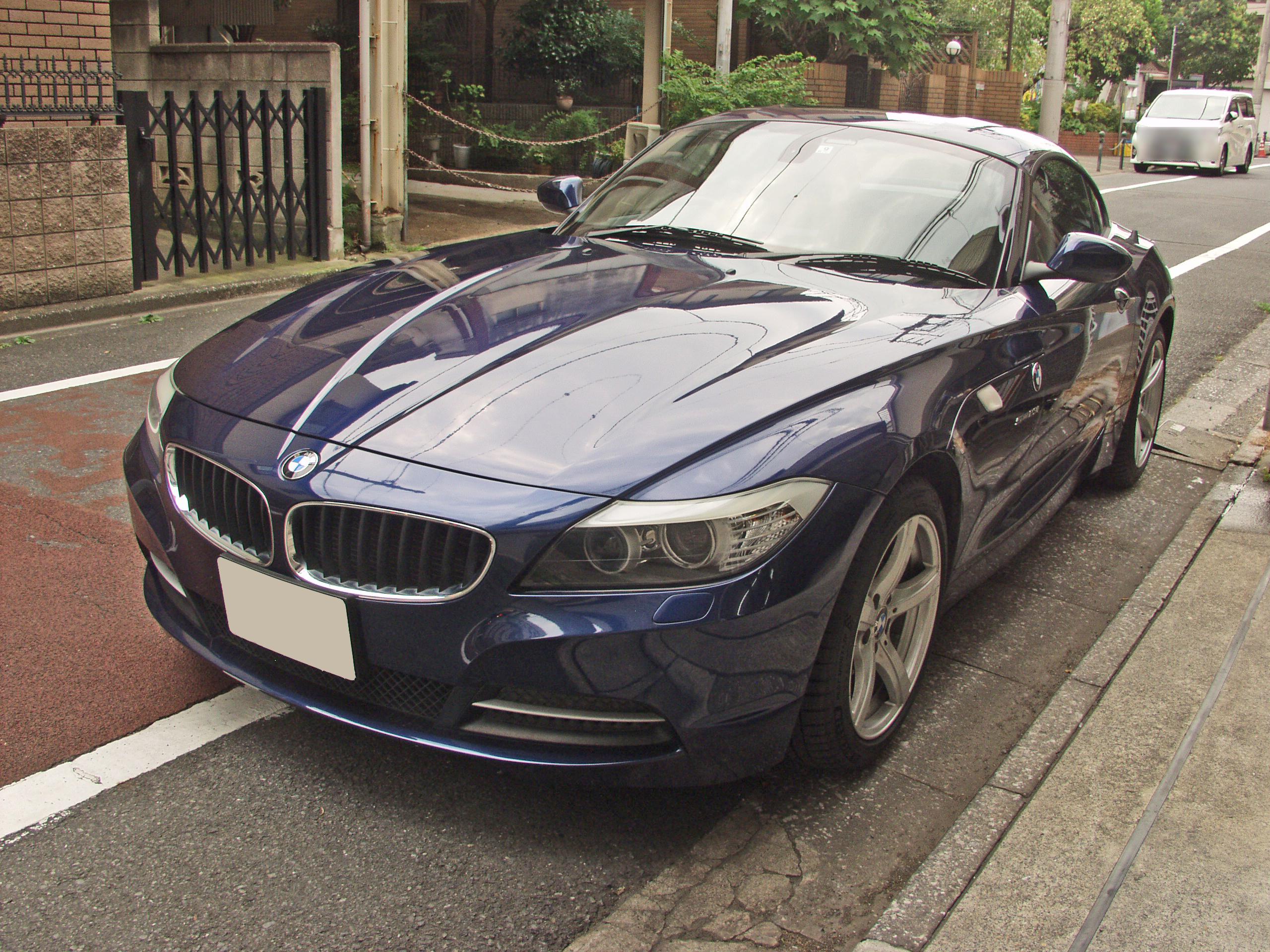 【中古車注文買い付け販売事例】BMW Z4 (E89)画像