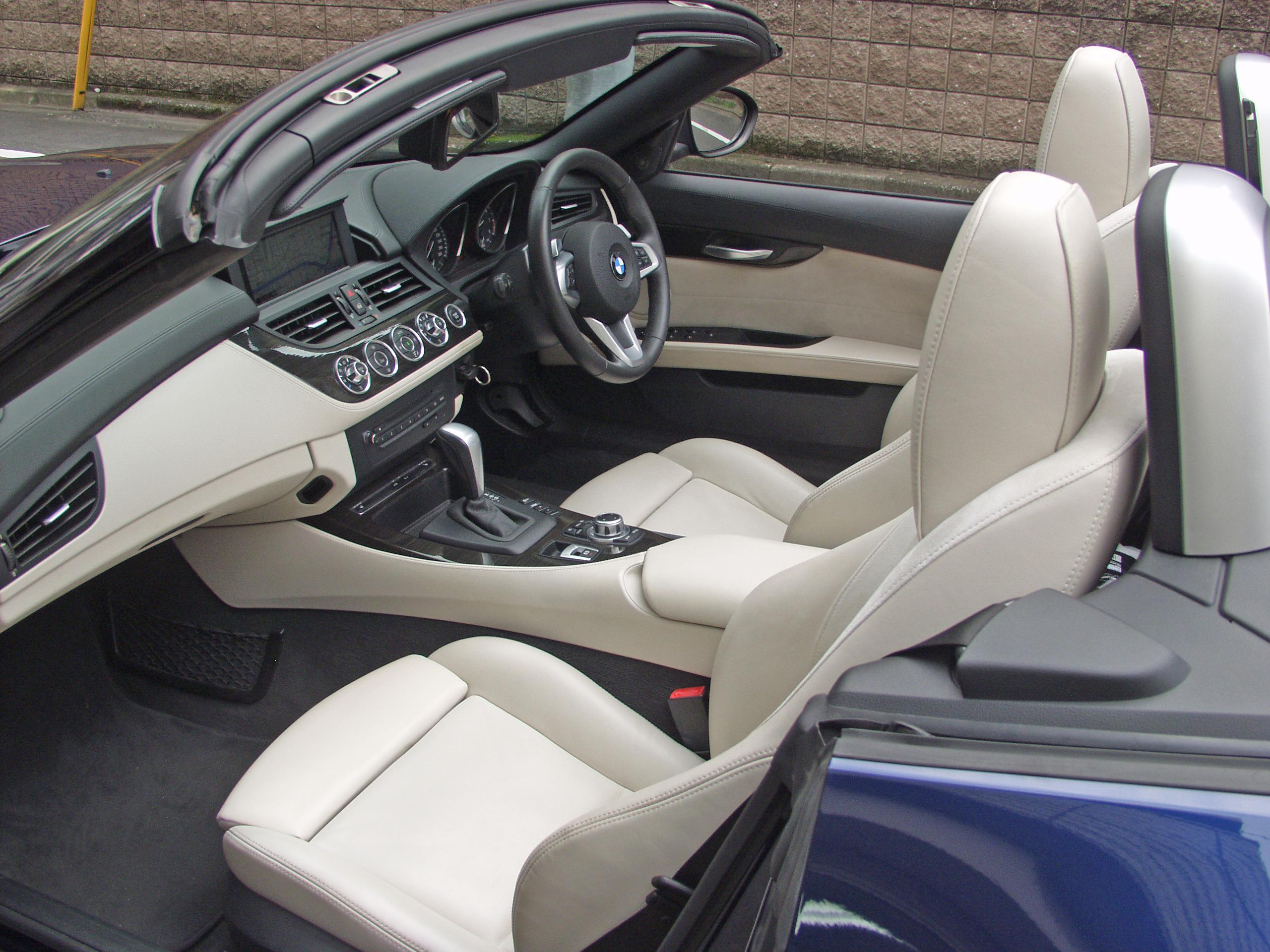 BMW E89 Z4 白革シート 助手席